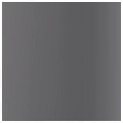 vidaXL Plăci bibliotecă, 8 buc., gri extralucios, 40 x 40 x 1,5 cm PAL