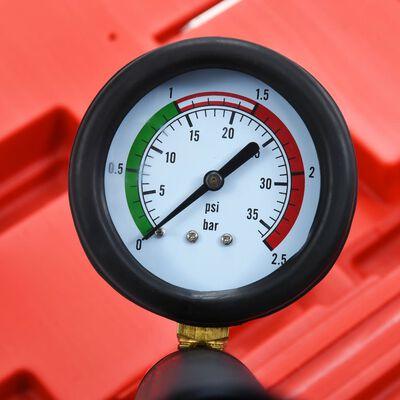 vidaXL Set testare presiune radiator și sistem de răcire, 14 piese