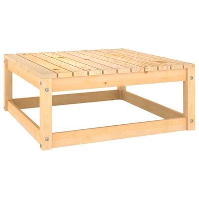vidaXL Set mobilier de grădină cu perne, 3 piese, lemn masiv de pin
