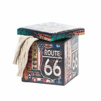 Unic Spot RO, Taburet Design 38x38 Route 66