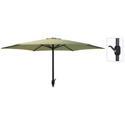 ProGarden Umbrelă de soare Monica, verde, 270 cm
