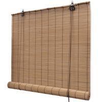 Jaluzea din bambus 80 x 160 cm, maro