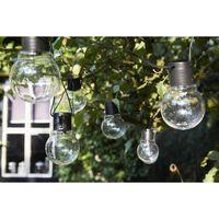 """Luxform Lămpi festive cu baterie """"Menorca"""", 10 LED-uri, transparent"""