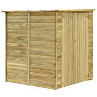 vidaXL Șopron de grădină, 157x159x178 cm, lemn de pin tratat