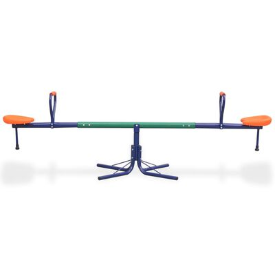 vidaXL Balansoar rotativ 360 grade, portocaliu
