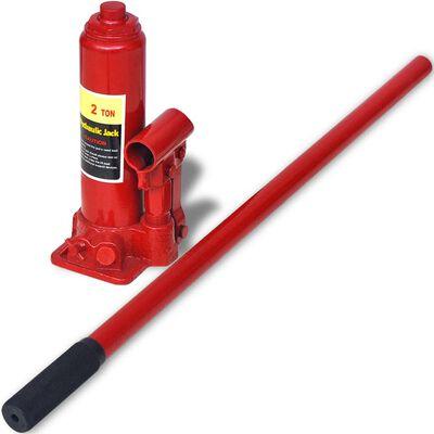 vidaXL Rampe reparații auto 2 buc., oțel, roșu