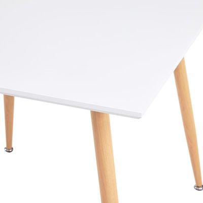 vidaXL Set mobilier de bucătărie, 5 piese, albastru, material textil