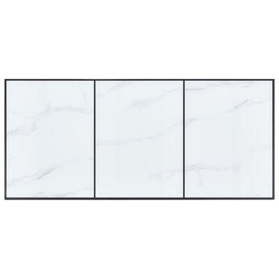 vidaXL Set de masă, 11 piese, maro închis, piele ecologică