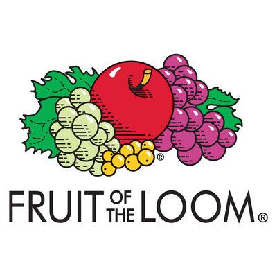 Fruit of the Loom Tricouri originale, 5 buc., vișiniu, XXL, bumbac