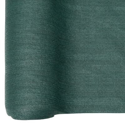 vidaXL Plasă protecție intimitate, verde, 1,2x25 m, HDPE, 195 g/m²