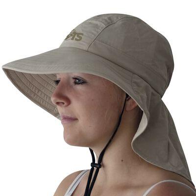 Travelsafe Pălărie de soare UPF 50+, bej