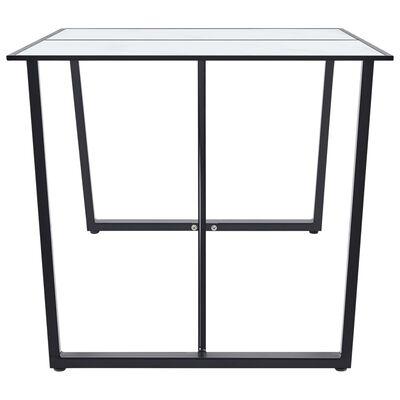 vidaXL Set mobilier de bucătărie, 7 piese, maro, piele ecologică
