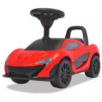 vidaXL Mașinuță fără pedale McLaren P1, roșu