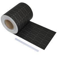 vidaXL Rolă de bandă pentru gard din PVC, 70 x 0,19 m, ratan