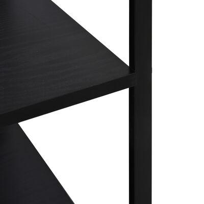 vidaXL Dulap cuptor microunde, negru, 60 x 39,6 x 79,5 cm, PAL