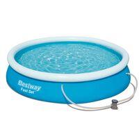 Bestway Set piscină Fast Set, 366 x 76 cm, 57274