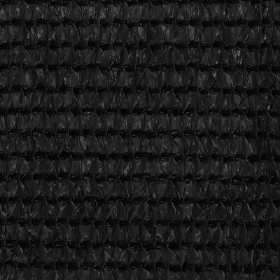 vidaXL Covor pentru cort, negru, 400x500 cm