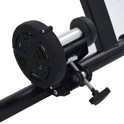 vidaXL Suport de bicicletă pentru antrenament, negru, 66-71 cm, oțel